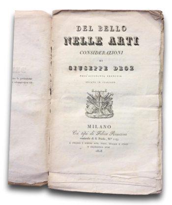 DEL BELLO NELLE ARTI  <BR/> Giuseppe Droz