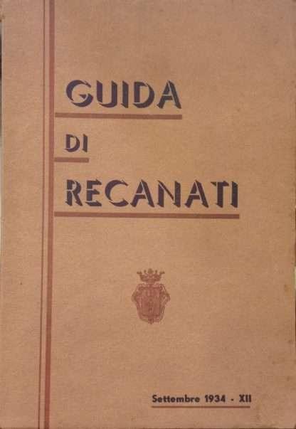 GUIDA DI RECANATI <BR/> Osvaldo Calamanti