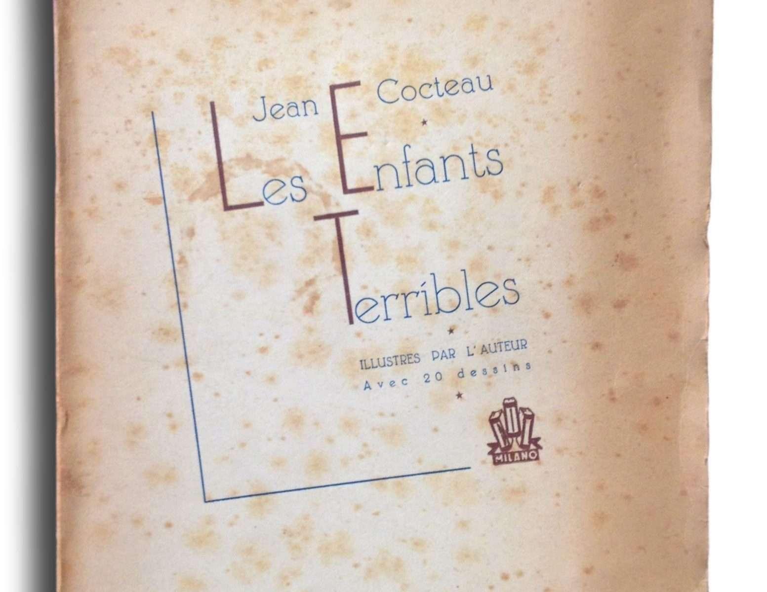 LES ENFANTS TERRIBLES  <BR/> Jean Cocteau