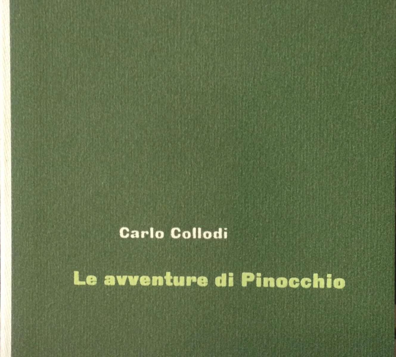 LE AVVENTURE DI PINOCCHIO  <BR/> Carlo Collodi