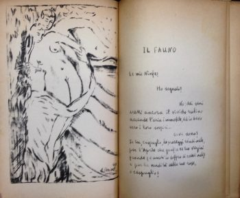 L'APRES-MIDI D'UN FAUNE DI STEFANO MALLARME'  <BR/> Vann'Anto' (G.Antonio Di Giacomo)