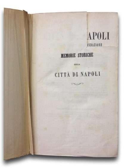 MEMORIE STORICHE DELLA CITTA' DI NAPOLI <BR/>Francesco Ceva Grimaldi
