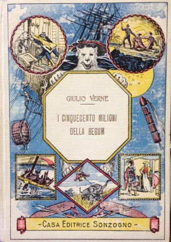 I CINQUECENTO MILIONI DELLA BEGUM  <BR/>Giulio Verne