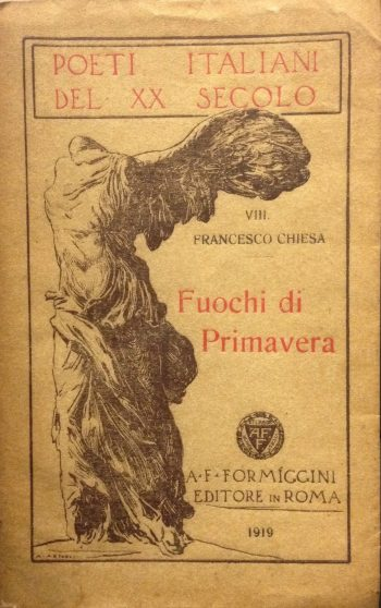 FUOCHI DI PRIMAVERA  <BR/>Francesco Chiesa