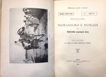 NOMADISMO E NOMADI DELLA TRIPOLITANIA