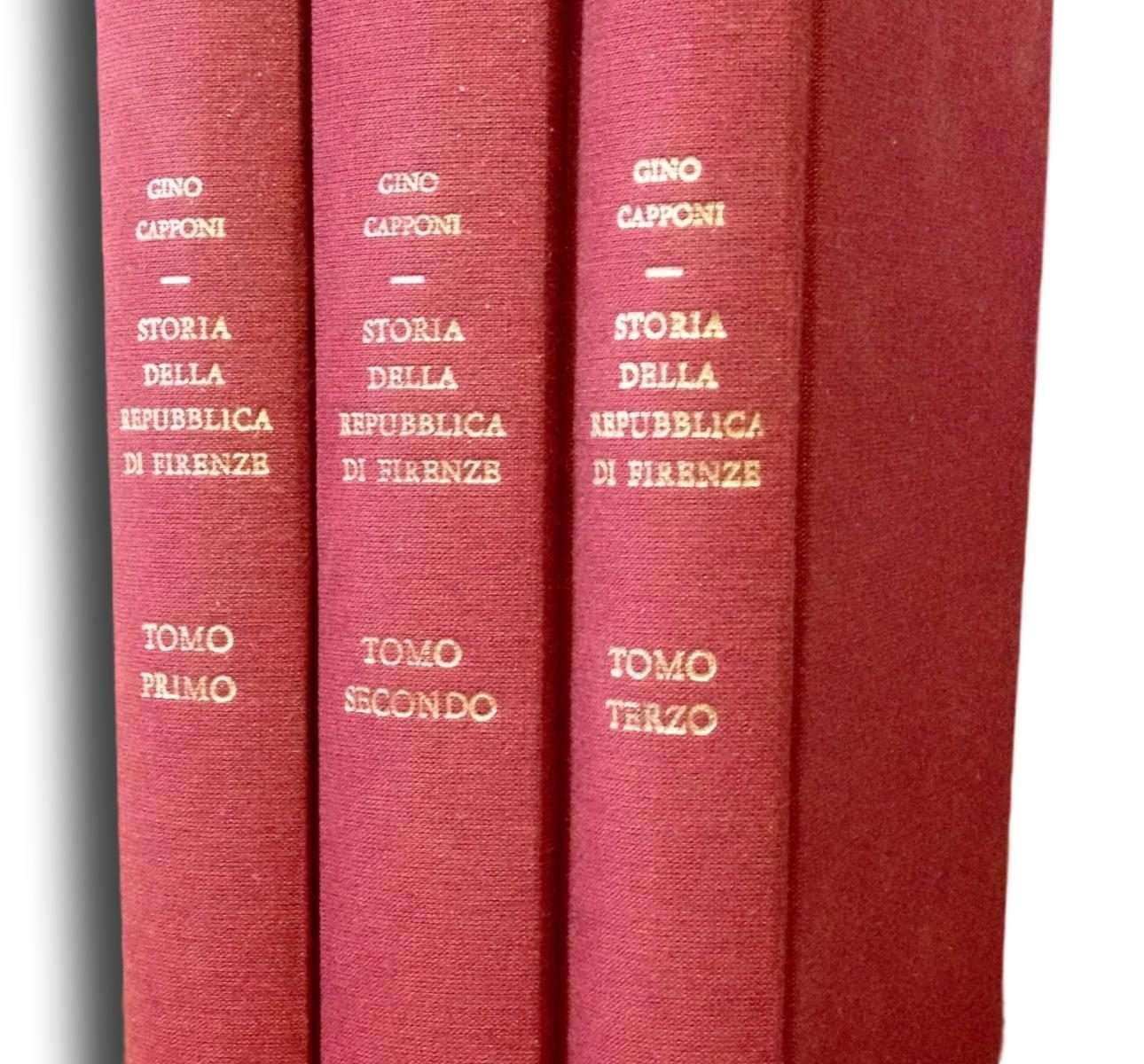 STORIA DELLA REPUBBLICA DI FIRENZE  <BR/>Gino Capponi