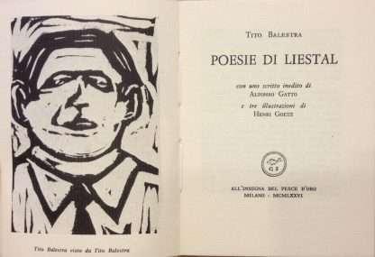 POESIE DI LIESTAL <BR/>Tito Balestra