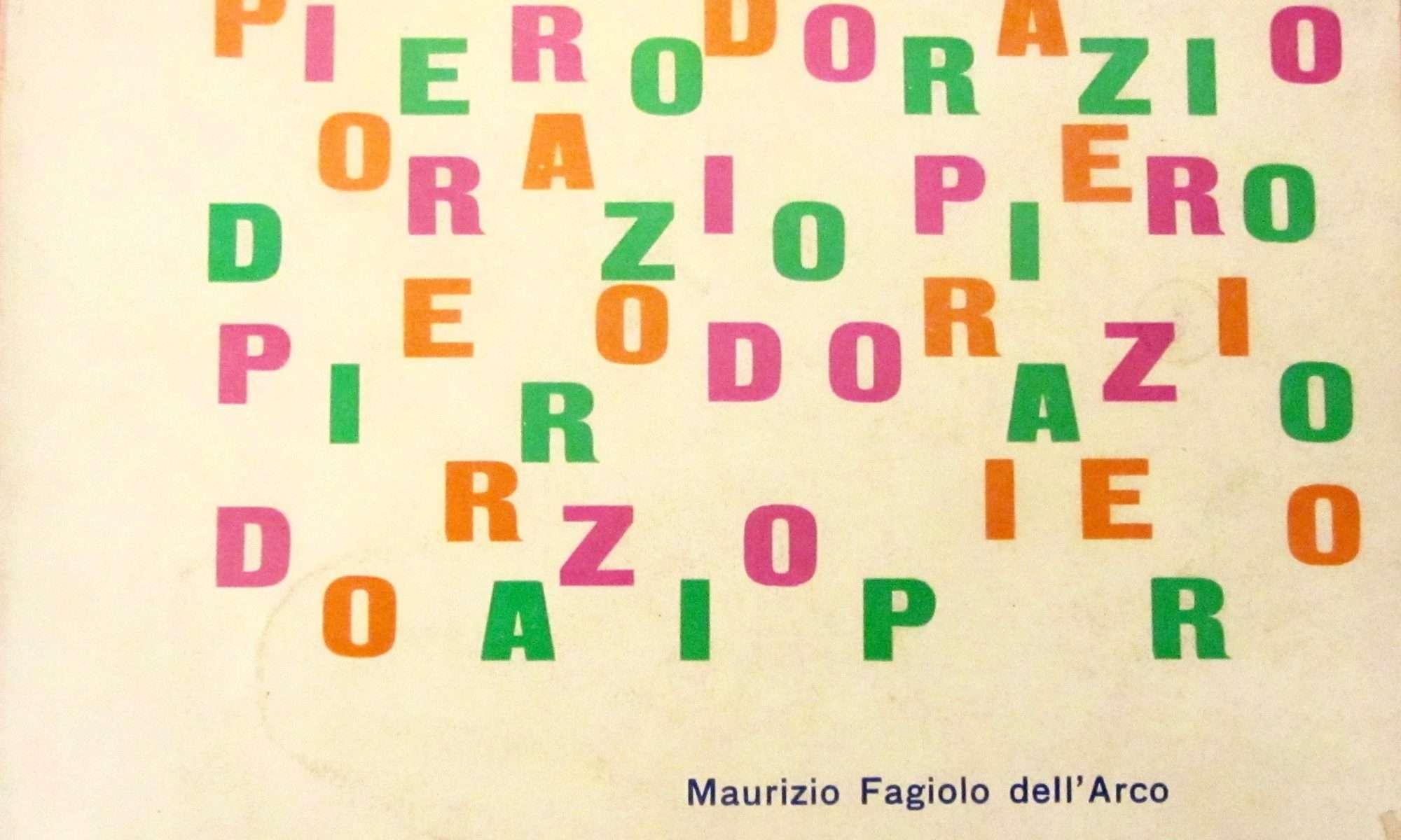 PIERO DORAZIO <BR/>Maurizio Fagiolo Dell'Arco