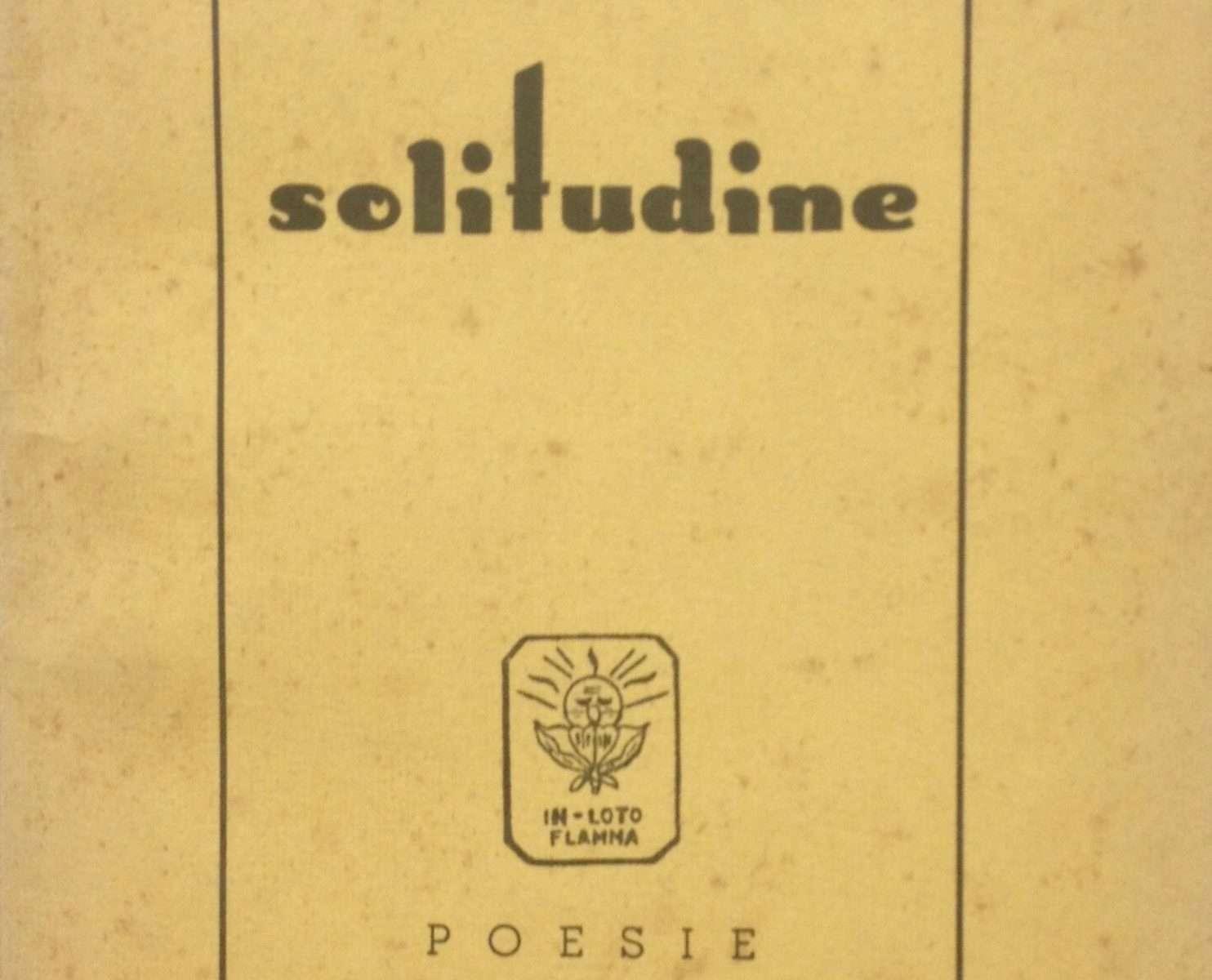 SOLITUDINE  <BR/> a cura di Alberto Perlenghini