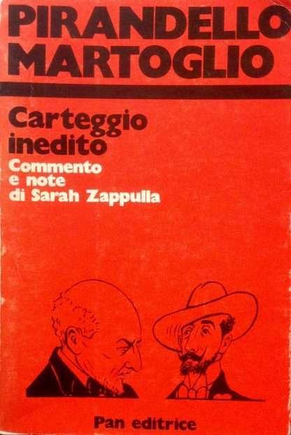 PIRANDELLO MARTOGLIO <BR/>Sarah Zappulla
