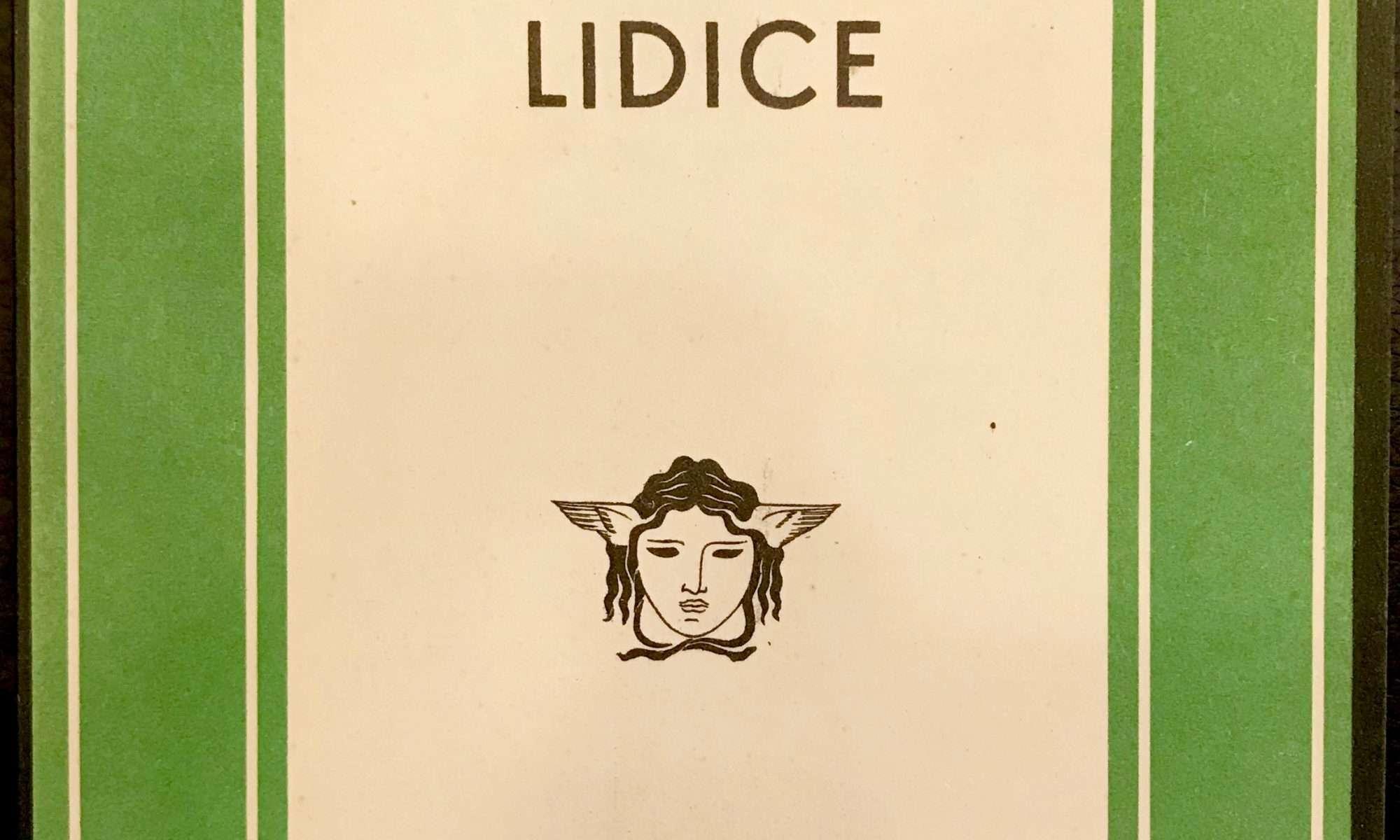 LIDICE <BR/> Heinrich Mann