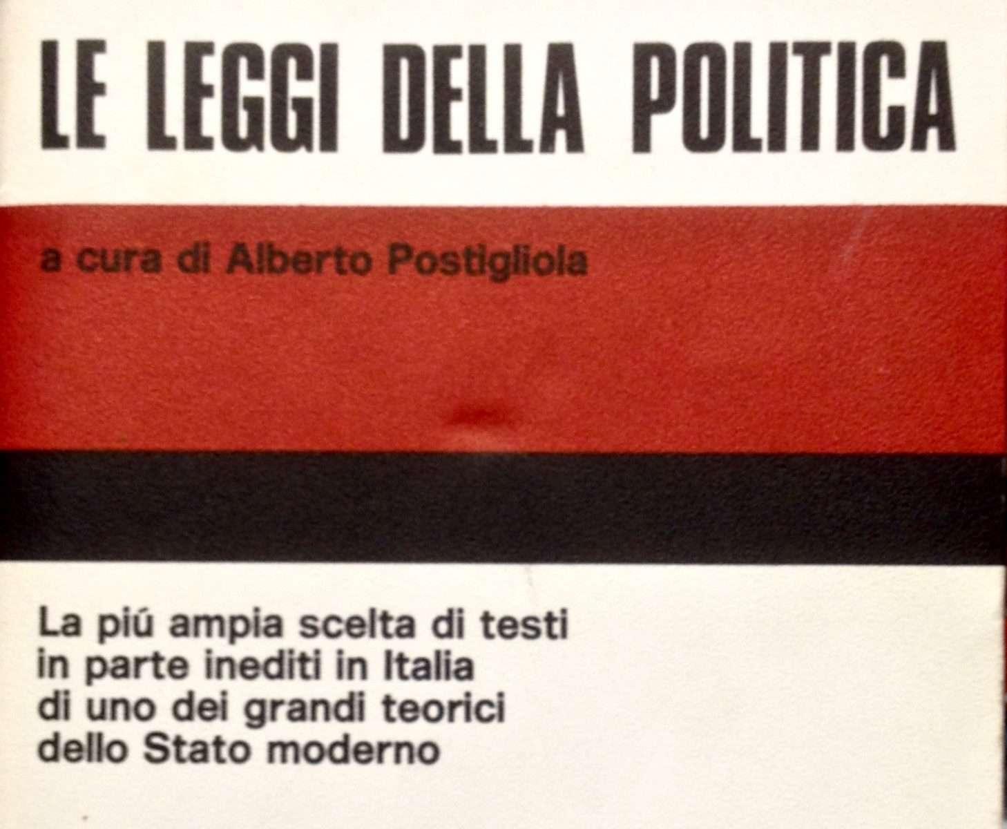 LE LEGGI DELLA POLITICA <BR/> Montesquieu