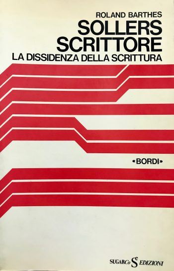 SOLLERS SCRITTORE <BR/> Roland Barthes