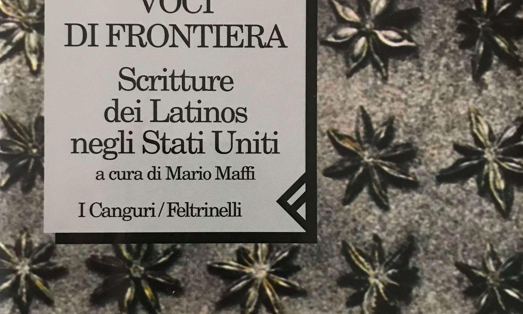 VOCI DI FRONTIERA  <BR/> A cura di Mario Maffi