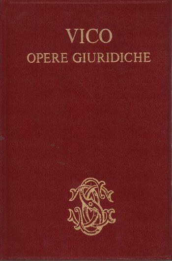 OPERE GIURIDICHE <BR/> Giambattista Vico
