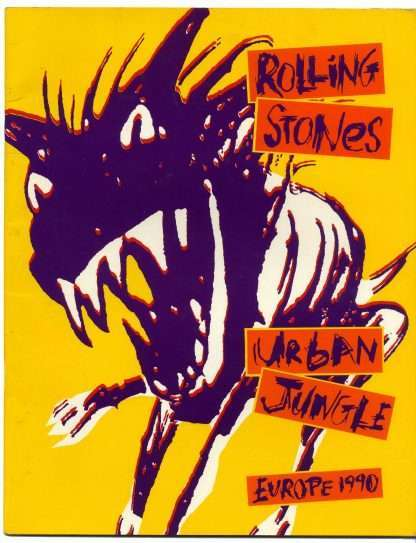 ROLLING STONES URBAN JUNGLE EUROPE 1990