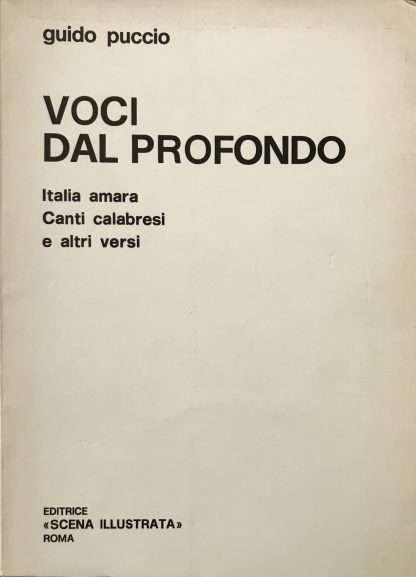 VOCI DAL PROFONDO <BR/> Guido Puccio