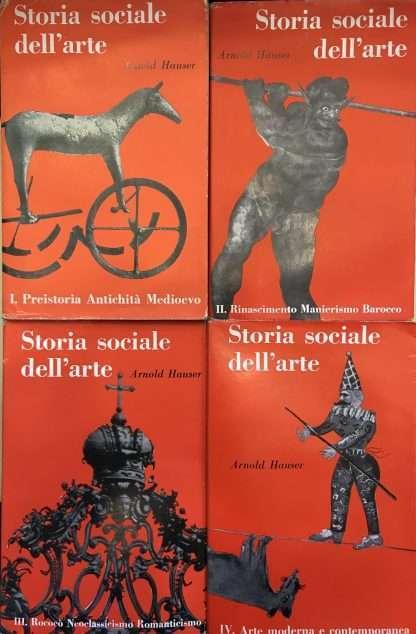 STORIA SOCIALE DELL'ARTE <BR/> Arnold Hauser