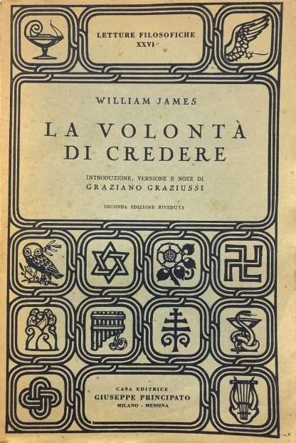 LA VOLONTA' DI CREDERE William James