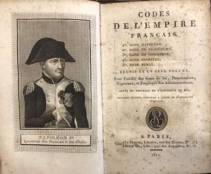CODES DE L'EMPIRE FRANCAIS, 1811