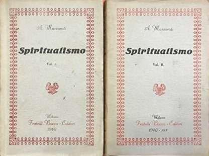 SPIRITUALISMO Marzorati