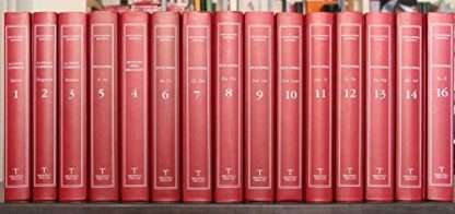 ENCICLOPEDIA DANTESCA. Opera completa in 16 volumi. Biblioteca Treccani 2005