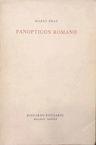 PANOPTICON ROMANO<br>Mario Praz