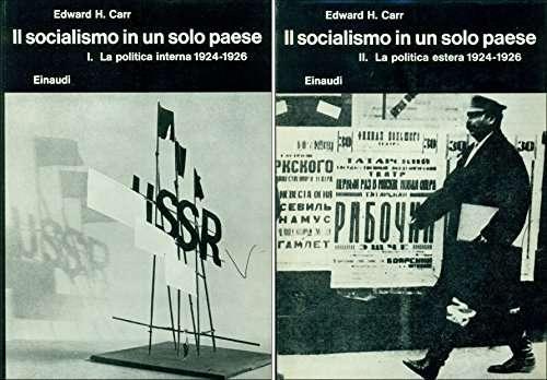 Socialismo In Un Solo Paese (Il) <BR/> Edward H. Carr